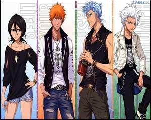 A quelle division appartient Rukia Kuchiki (n°1 sur l'image) ?
