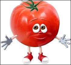 Cette petite tomate a honte :