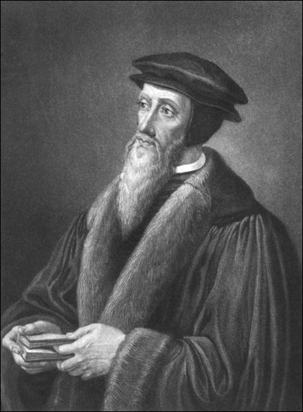 Figure principale dans le développement de la théologie chrétienne durant la Réforme Protestante, ce pasteur français est le fondateur du Calvinisme. Il s'agit de :