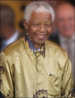 Brillant militant anti-apartheid et ayant servi de président pour l'Afrique du Sud de 1994 à 1999, il reçu plus de 250 prix dont le Prix Nobel de la Paix en 1993. Il s'agit de :