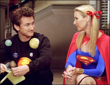 Sean Penn joue Eric le petit ami de Phoebe. Avec qui était-il supposé se marier avant de sortir avec Phoebe ?