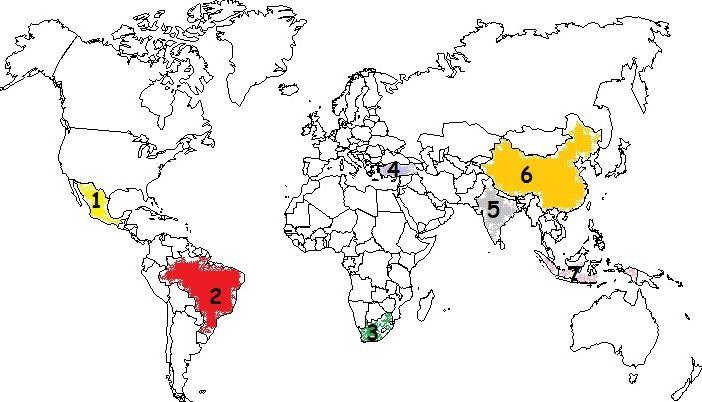 Les pays émergents