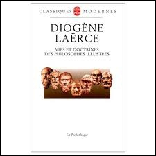 Le philosophe Diogène dormait dans un tonneau.