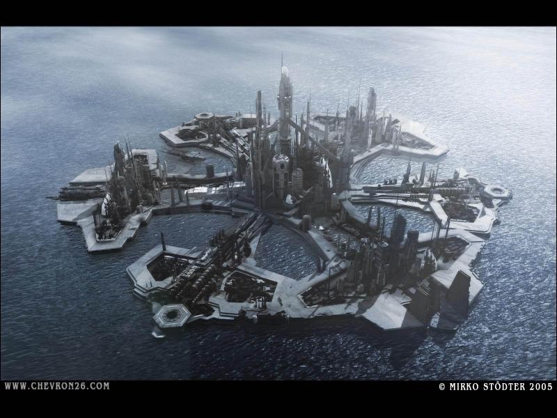 Combien Atlantis a-t-elle de  bras  ?