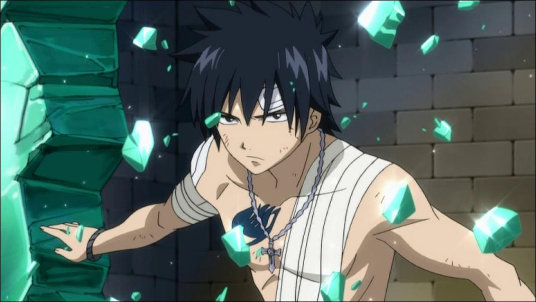 Éternel rival de Natsu Dragnir, ce personnage est capable de manipuler la glace :