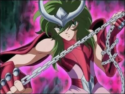 Dans le manga  Saint Seiya , ce personnage est le chevalier de bronze d'Andromède :