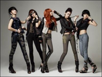 De quel groupe fait partit HyunA ?