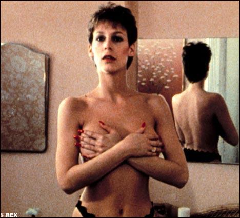 La brune et sculpturale Jamie Lee Curtis, fille de Tony Curtis et Janet Leigh, dans un rôle de prostituée au grand coeur dans le film ?