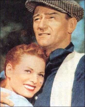Encore un grand classique, qui se passe dans la verte Irlande. John Wayne, ancien boxeur, veut épouser Maureen O'Hara laquelle tient à sa dot... C'est ?