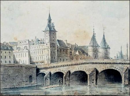En 1389, Isabeau de Bavière passa sur le pont au Change afin de se rendre à Notre-Dame. Que se passa-t-il lors de sa traversée du pont ?