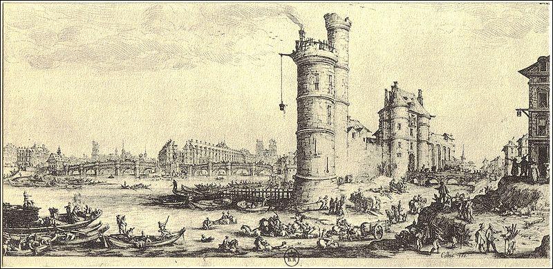 Quai de Conti existait une tour tristement célèbre. Elle fut vendue en 1308 à Philippe le Bel qui y installa ses trois fils et leurs épouses. Comment s'appelait cette tour ?