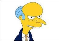 Qui est le patron d'Homer ?