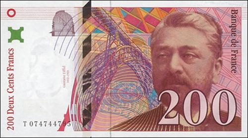 Célèbre pour sa tour construite en 1889, on trouve le visage de cet homme sur des billets de 200 francs. Qui est-ce ?