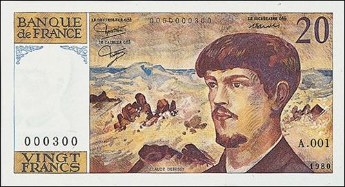 Cet homme est connu sur ce billet de 20 francs. Quel est son nom ?