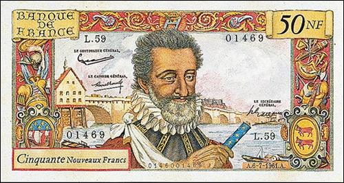 Quel est le nom de ce roi assassiné par François Ravaillac, le 10 mai 1610 dans la rue de la Ferronnerie à Paris ?