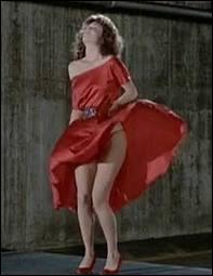 C'est l'actrice Kelly LeBrock, dans une scène célèbre du film français dont c'est le remake. Quel est le titre du film ?