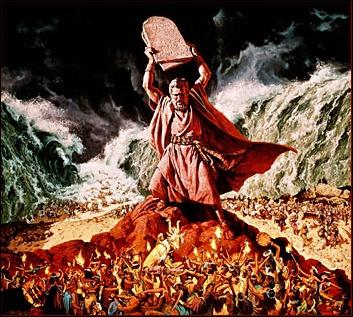 Selon la Bible, qu'est-ce-que Moïse rapporta du Mont Sinaï ?