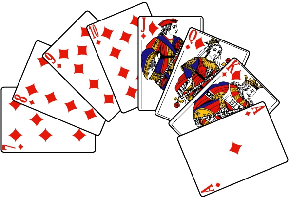 De quel pays viennent les cartes à jouer ?