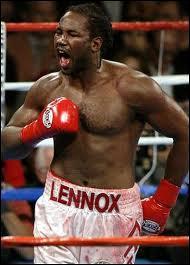 Quelle est la nationalité du boxeur professionnel Lennox Lewis ?