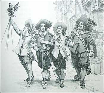 Athos, Porthos, Aramis et D'Artagnan ont-ils vraiment existé ?