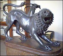 Qui était le père de la Chimère, tuée par Bellérophon ?