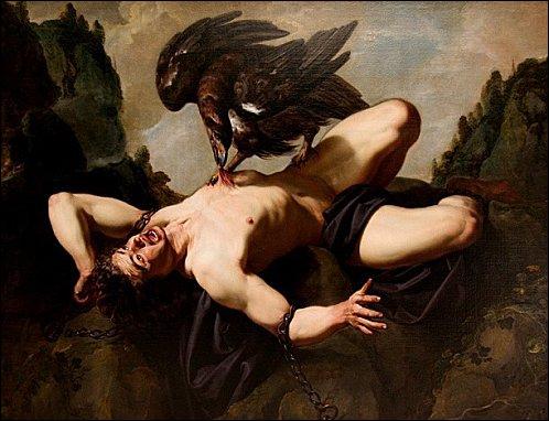 Prométhée fut enchaîné à un rocher. Tous les jours, l'aigle du Caucase venait lui manger le foie. Pendant la nuit, le foie se reconstituait. Est-ce que le fait que le foie se reconstitue est vrai ?