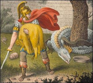 De quel animal la Toison d'or conquise par Thésée provient-elle ?