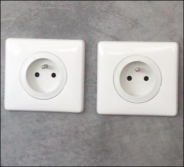 Dans quel emplacement une prise de courant 230 V est-elle interdite ?