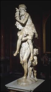 Il est le père d'Enée qu'il a eu de ses amours avec Aphrodite. Pour le sauver son fils le porta sur ses épaules. C'est ...