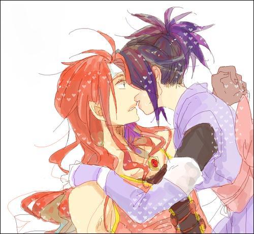 Dans  Tales Of Symphonia  qui est ce couple ?
