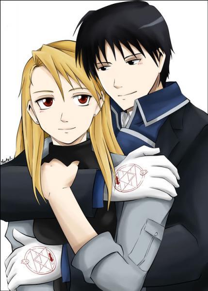 Dans  Fullmetal Alchemist Brotherhood  qui est ce couple ?