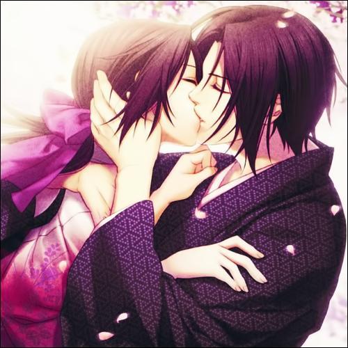 Dans  Hakuouki Shinsengumi  qui est ce couple ?