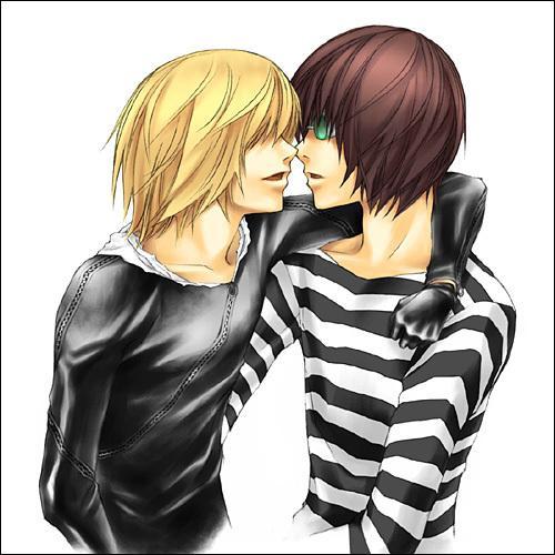 Dans  Death Note  qui est ce couple ?