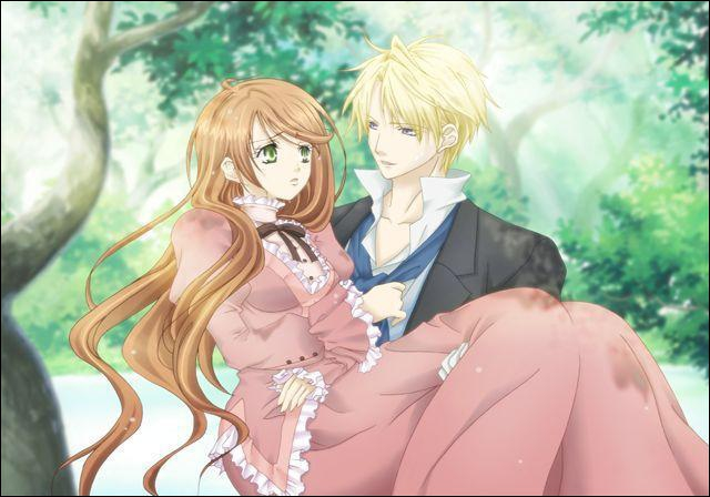Dans  Hakushaku to yousei  qui est ce couple ?