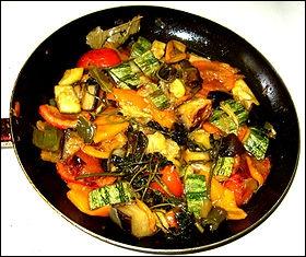Quels légumes et ingrédients met-on dans une ratatouille ?