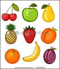 Combien y a-t-il de fruits ? (La cerise en compte deux ! )