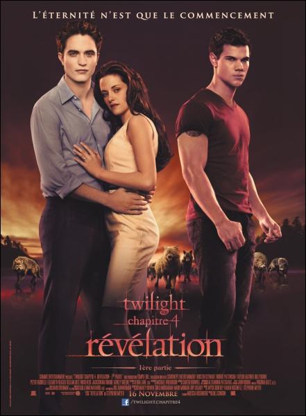 Sur l'affiche française du film, Bella et Edward sont habillés de la même façon que ...