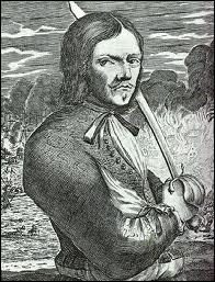 Jean-David Nau était un pirate des plus cruels, détestant les espagnols, qu'il capturait, puis leur tranchait la tête, léchant son sabre pour goûter leur sang... Quel était son surnom ?