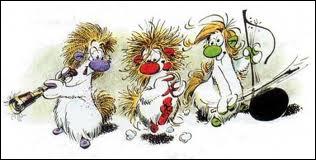 Ces personnages créés par Franquin ont été adaptés à la télévision, mais comment s'appellent ces drôles de bêtes ?