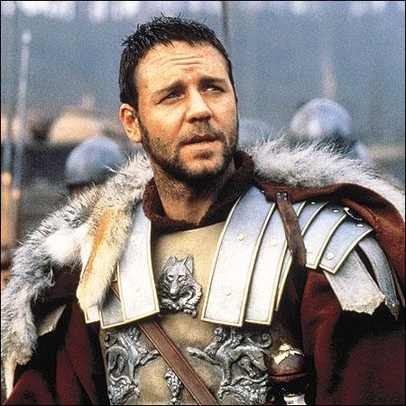 Dans le film ''Gladiator'' de Ridley Scott, comment nettoie-t-on les blessures du général romain joué par Russell Crowe ?