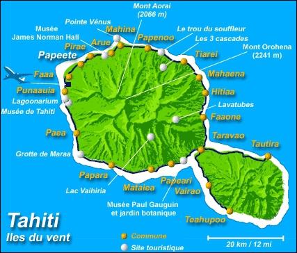 Quel est le chef-lieu de Tahiti ?