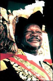 Autoproclamé Empereur, je dirige la Centrafrique entre 1976 et 1979.