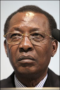 Je dirige le Tchad, largement soutenu par la France.