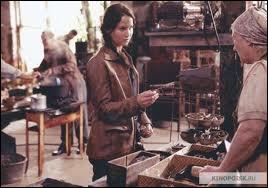 Où se trouve Katniss ?