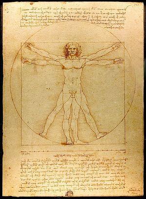 Comment est appelé ce célèbre dessin de Léonard de Vinci ?