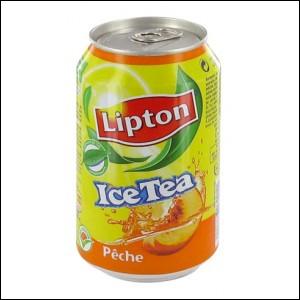 Quelle est la traduction française de cette marque de boisson ? ( Ice Tea)