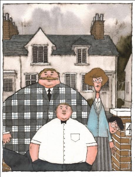 """""""L'un d'eux était très gros et l'autre maigrichon""""."""