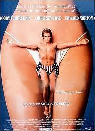 Film américain réalisé par Milos Forman en 1996 avec Woody Harrelson et Courtney Love :