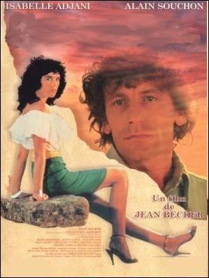 Film français de 1983 réalisé par Jean Becker avec Isabelle Adjani et Alain Souchon :