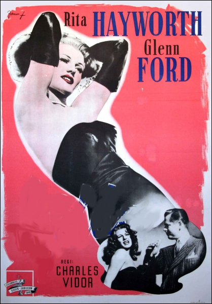 Film de 1946 réalisé par Charles Vidor avec Rita Hayworth et Glenn Ford :